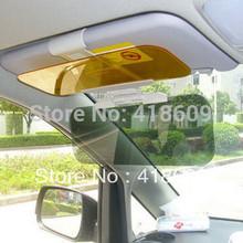 Day Night Snow anti-dazzling glare proof sun visor shade shield sun glass 2 in1 free shipping wholesale(China (Mainland))