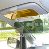 Day Night Snow anti-dazzling glare proof sun visor shade shield sun glass 2 in1 free shipping wholesale(China (Mainland))