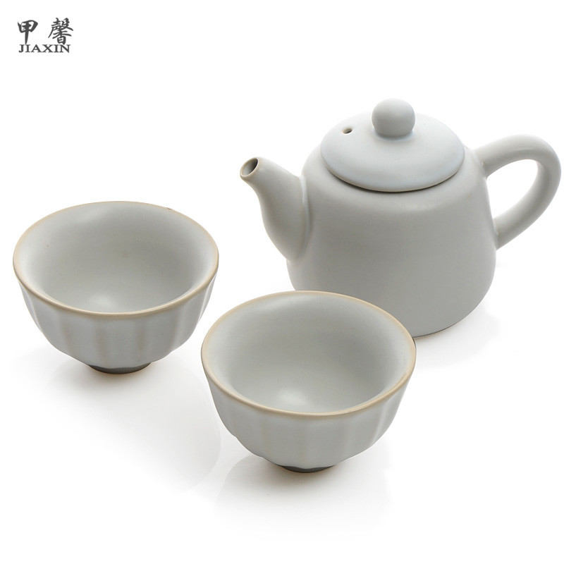 Tea set travel kung fu tea set tea set pot cup(China (Mainland))