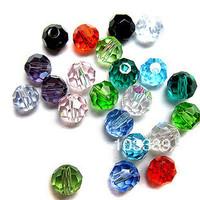 6mm diy beads crystal loose beads diy accessories bead 32 facets bead