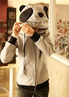 Giant panda with a hood sweatshirt cute 2013 antumn and winter coat hoody