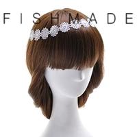Handicraft lace headband bride/ bridesmaid hair accessory 2014 wedding fashion free shipping