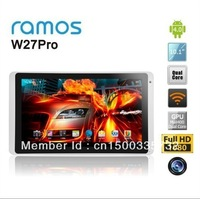 10.1 inch Ramos W27 Pro  Android 4.1 ATM729 Quad Core Cortex A9 1GB/16G Tablet PC