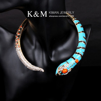 Ювелирное изделие famous brand gorgeous gold painting snake bangl /bracelet BR-03121 Over $20 for