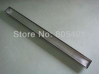 Free shipping (600mm long)Tile insert floor drain  , Tile insert linear drain