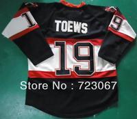 Free shipping ice hockey#19 JONATHAN TOEWS 19 premier black color winter classics style cheap Jersey jerseys hot sale heiying