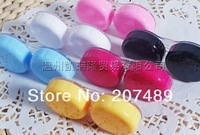 solid sweet color Cute Lovely Travel Portable Contact Lens Lenses Container Case Set Holder Box wholesale