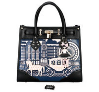 Free shipping 2013 princess hippomobile bag korean portable one shoulder cross-body small lock women's handbag