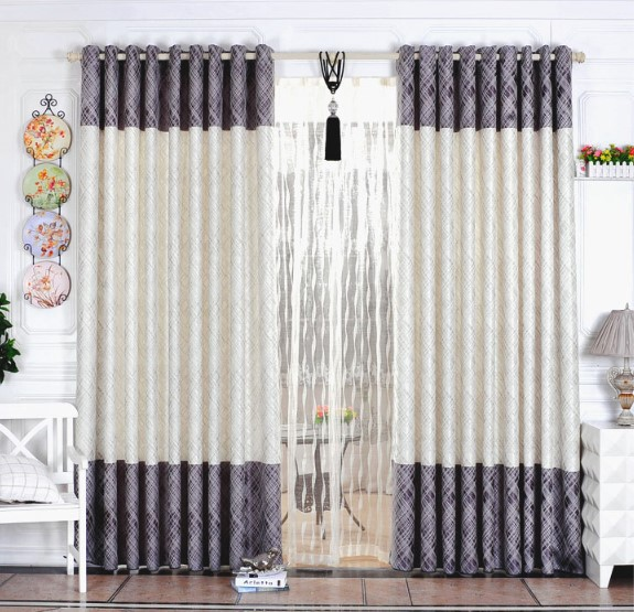 Free Shipping Home Textile Curtain Design Jacquard Curtain Minimalist  Modern Style Living Room Bedroom Curtains For Window