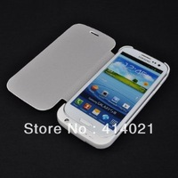 White External 2200mAh Back Up Battery Charger Case Bank for Samsung Galaxy S3 i9300