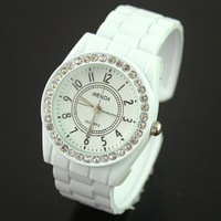 Women's casual table wrist length table student watch diamond fashion watch quartz watch d38