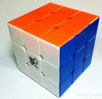 Mini DaYan Zhanchi V5 50mm  stickerless 3x3 speed cube
