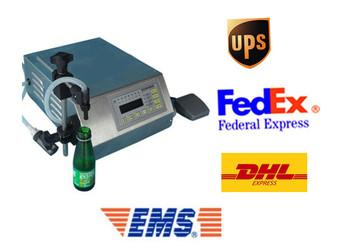 3-3000ml liquid filling machine ,LCD display, digital compact pump,free shipping by FEDEX, DHL ,UPS ,EMS