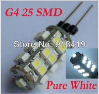 10X G4 LED 25 3528 smd led Epistar smd 12V DC White Warm White Bulbs