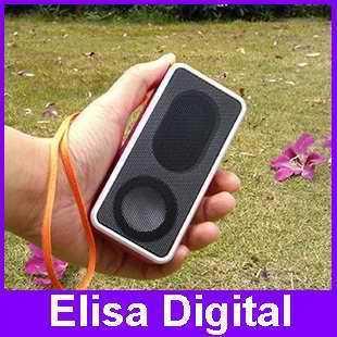 Free shipping 100% original music angel JH-MD09 mini speaker support tf /micro /FM / U-disk +4GB TF card+ card reader,RY9114