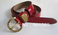 Geniune Leather Women's Fashion Waist Leather Belt