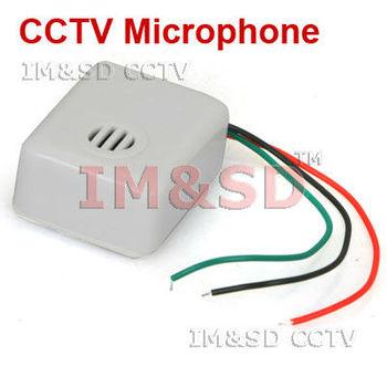 CCTV Microphone Mic for CCTV Camera DVR Security System