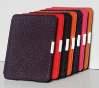 Leather Case  smart cover For kindle paperwhite official leather case
