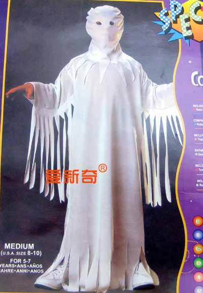 Free Shipping Halloween halloween party clothes adult white clothes(China (Mainland))