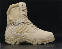 Delta desert boots and tactical boots boots side zipper 511 boots sand color free shipping