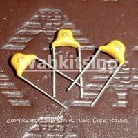 500 PCS 104/50V DIP-2 Mono Monolithic Ceramic Capacitors 104 100nF 0.1uF 100 nF 50V