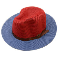 F05049 HotSell Summer Woman Foldable Wide Brim Floppy Beach Sun Straw Hat Cap + Free Shipping