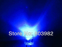 Good quality 1.5Hz Blue color 5mm flashing LED 3.0-3.4Hz single blinking Flat top(through hole led)