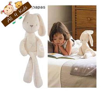 2013 New Arrive Baby Rabbit Sleeping Comfort Doll Plush Toy Kids Animals Kids Gift Toys Children Lovely Rabbit Toys
