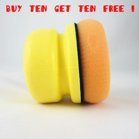 Free Shipping(10 SETS) Car Auto Waxing Sponge Pads, Super High Quality Household Leather Furniture Wax Sponge Wholesale& Retail