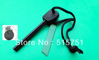 outdoor survrval Magnesium fint sorne fire starter lighter ,free shipping