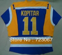 Free shipping ice hockey #11 ANZE KOPITAR 11 purple  cheap Jersey jerseys hot sale guowang