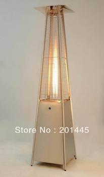 Gas Patio Heater Flame Patio Heater Pyramid Triangle Glass Tube Flame Patio Heaters
