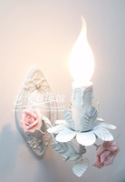 2012 hot sell Candle lamp rustic lamp bed-lighting flowers and lights princess 98 free shipping