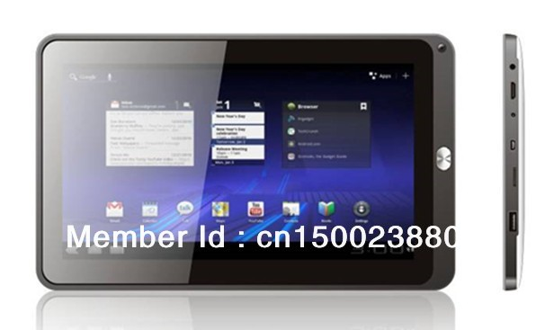 10.1 inch 1024*600 mulit-touch dual core cortex A8 1.0GHZ Andriod 4.0 Gloway MID(China (Mainland))