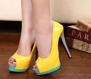 أحذية صفراااااااااااااااااء كعب عاااااااااااااااااالي New-Hot-sale-fashion