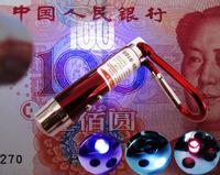 Professional small money detector machine mini portable black lights money detector light money detector light band flashlight