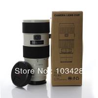 FreeShipping-Camera G 70-200mm Lens Mug White Lens Coffee Cup Camera Lens Cup