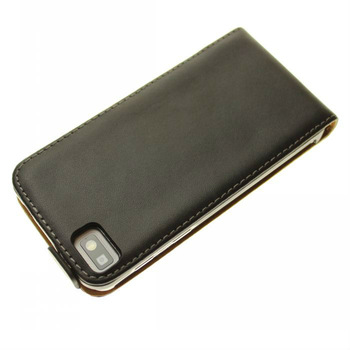 HK post free shipping 2013 New Flip Leather Case Cover For BlackBerry Z10 Cell Phone Accessories