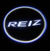 Car LED Door Lights For Reiz Car LOGO Decoration Door Prejection Auto Shadow Light Laser Lamp 2Pcs Free Shiping HK Post