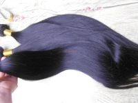 Mixed length 2pcs/lot Peruvian Virgin Hair Extension,Best Natural straight,Thick and soft Queen Peruvian Hair products