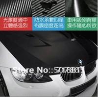 1.52*30M/roll black color change for car .3D Carbon Fiber Vinyl Car Sticker hot selling sticker , cheap shipping !