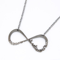 Fashion Simple Direction 8 Word Pendant Neckalce 3 Colors Wholesale 12Pieces/lot Free Shipping
