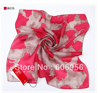Silk women scarf 52cm*52cm  fashion hijab/bandana style freeshipping