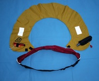 Automatic inflatable life buoy bunts belt type inflatable life vest inflatable bunts manual