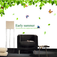 Living room tv wall sofa wall stickers ofhead home wall sticker