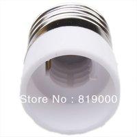 Free Shipping 12pcs x 710061 E27 to E14 LED Light Base Bulb Green Lamp Adapter Converter Screw Sock