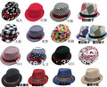 10pcs/lot Free Shipping children canvas hat, baby jazz cap, kids top hat, baby fedoras, baby dicers children headgear(China (Mainland))