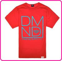 Stock free shipping diamond supply men t shirt 2014 new styles cheap short punk t shirt discount men diamond supply t shirt