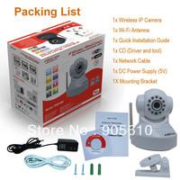 Foscam FI8918W CCTV WiFi Pan/Tilt IR IP Camera MOBILE VIEW IPHONE DROID WHITE EMS FREE SHIP