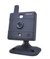 WIRELESS IP NETWORK CAMERA FOSCAM FI8907W BABY MONITOR webcam WHITE 2-WAY AUDIO Black